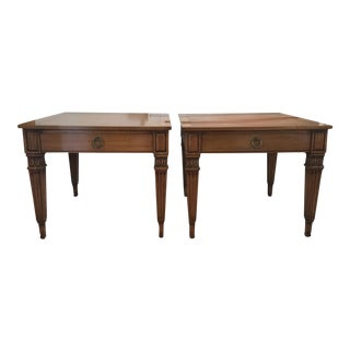 Vintage Baker Furniture Side Tables - A Pair
