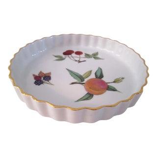 Royal Worcester English Tart Dish