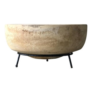 Architectural Pottery Planter With Stand