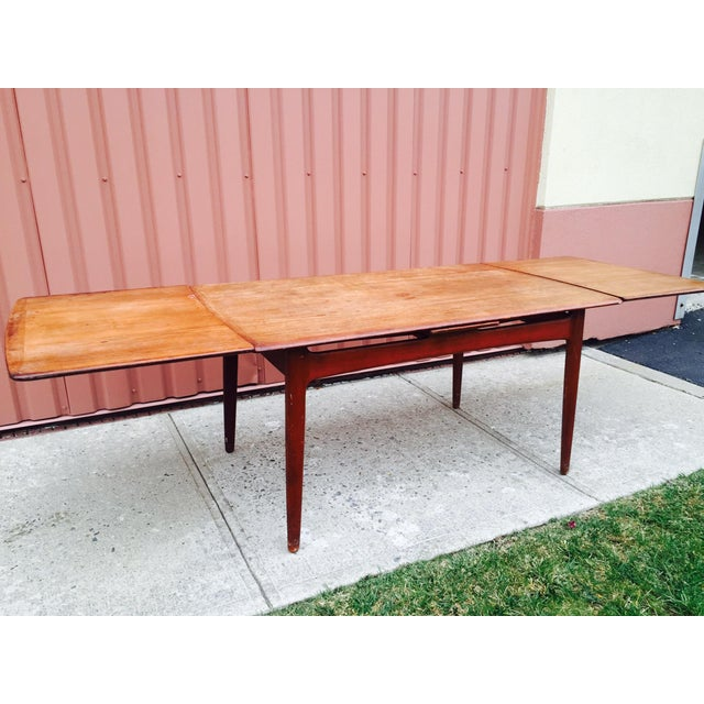 Danish Modern Dining Table by Svend Madsen - Image 4 of 7