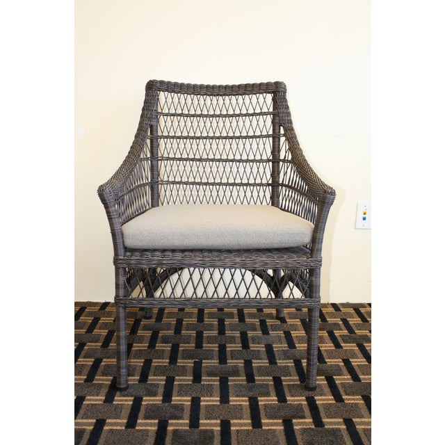 McGuire Water Mill Arm Chair - Image 2 of 6