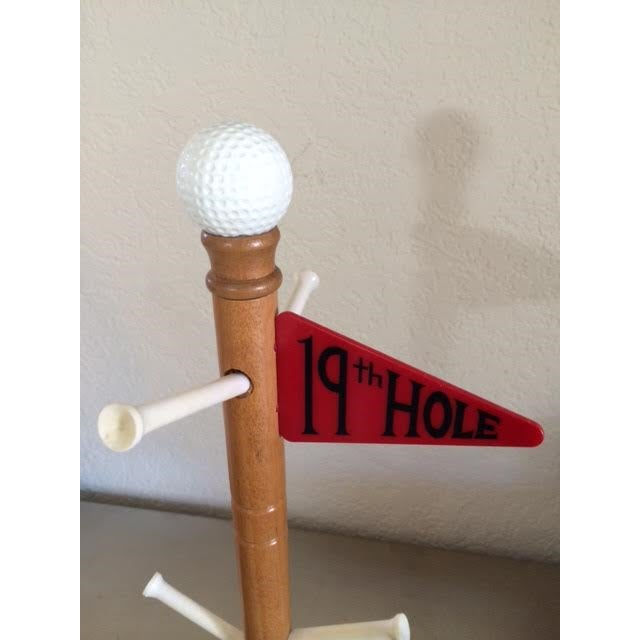 Image of Wooden 19th Hole Mug or Stein Holder