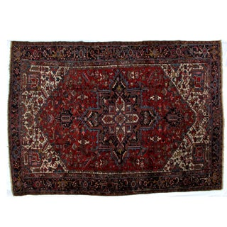 "Leon Banilivi Heriz Carpet - 9'7"" X 13'3"""