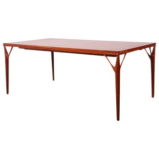 Sculptural Teak Dining Table
