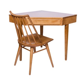 Russel Wright Modernmates Corner Desk and Chair