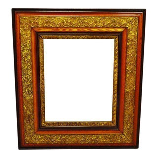 Antique Gesso Picture Frame