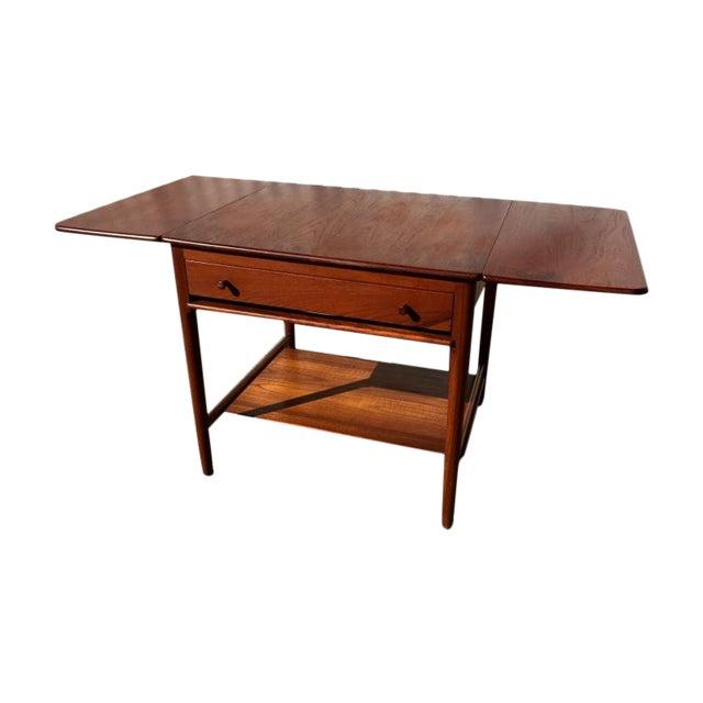 Image of Danish Modern Hans Wegner Sewing Table A33