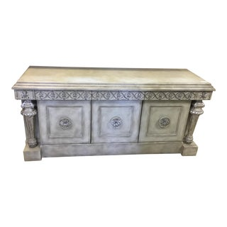 Baroque Style 3 Drawer Sideboard