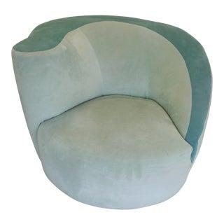 Vladimir Kagan Nautilus Swivel Chair