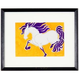 'Magnificent Force' Horse Painting