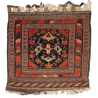 "1900s Antique Persian Malayer Bag Face - 2' X 2'3"""