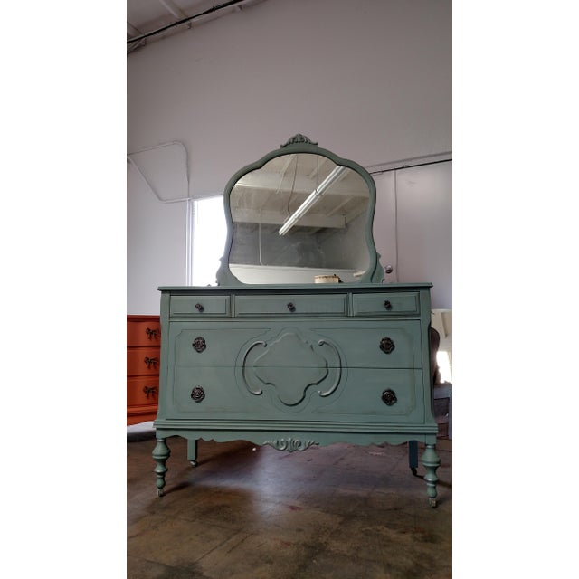 Refinished Vintage French Provincial Dresser - Image 6 of 6