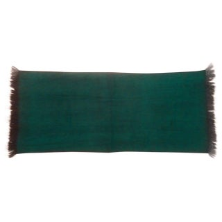 Emerald Green Alpaca Throw From Ecuador