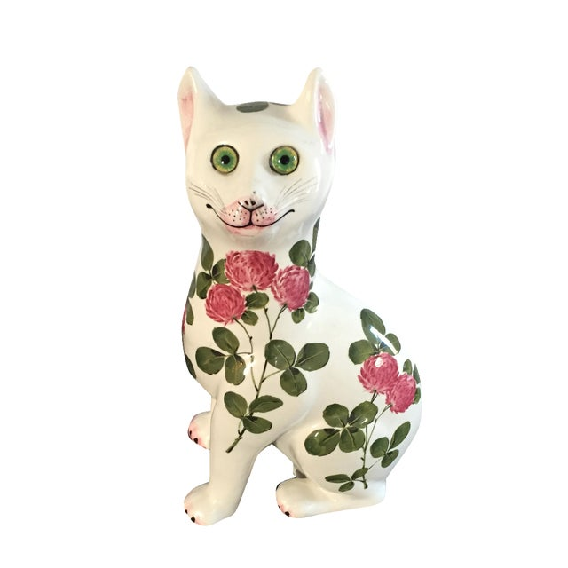 Plichta Pottery Nekola Pinxt Cat London England - Image 1 of 7
