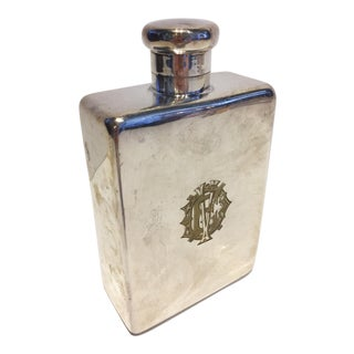 Large Silver Flask