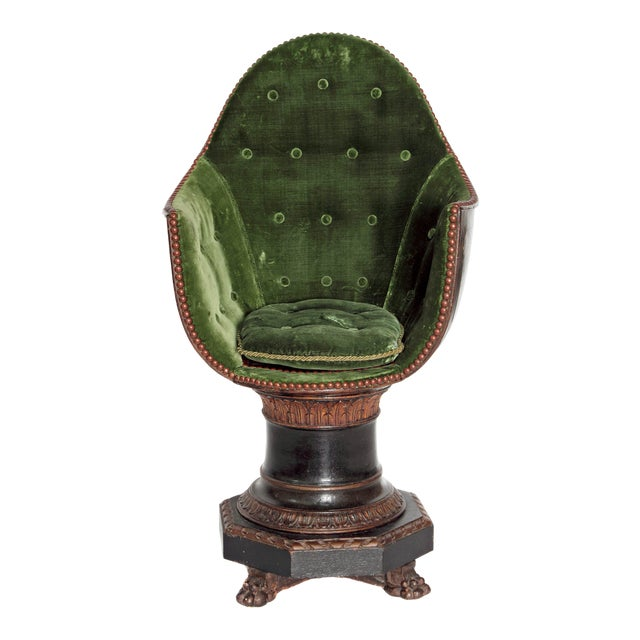 A Nineteenth Century Venetian Child's Gondola Chair - Image 1 of 11