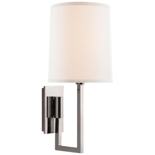 Silver Aspect Library Sconce