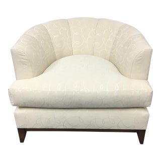 Barbara Barry Channel Back Tub Chair
