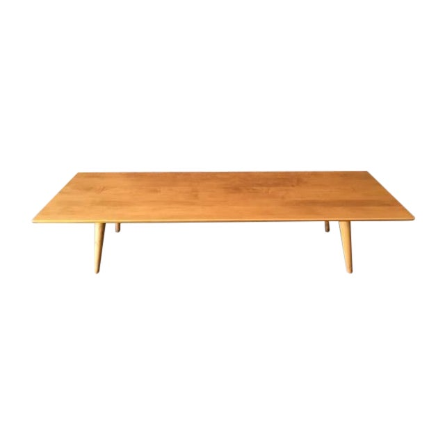 Mid Century Paul McCobb Maple Coffee Table - Image 1 of 5