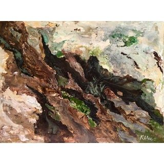 """Forest Energy"" Original Abstract Painting"