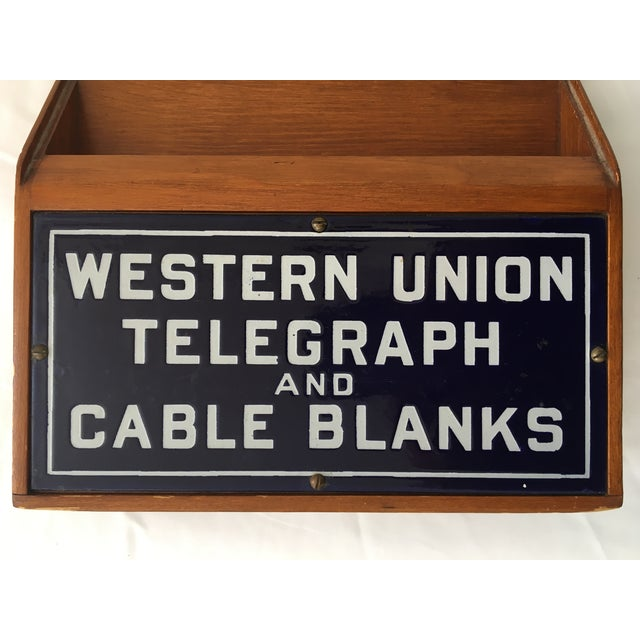 Western Union Telegraph & Cable Blanks Box - Image 5 of 11