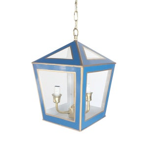 Dana Gibson Solid Navy Tucker Lantern