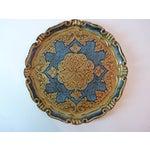 Image of Italian Painted Wood Trays - Set of 4