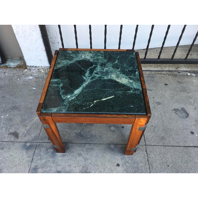 Verde Green Marble Top Side Table - Image 3 of 10