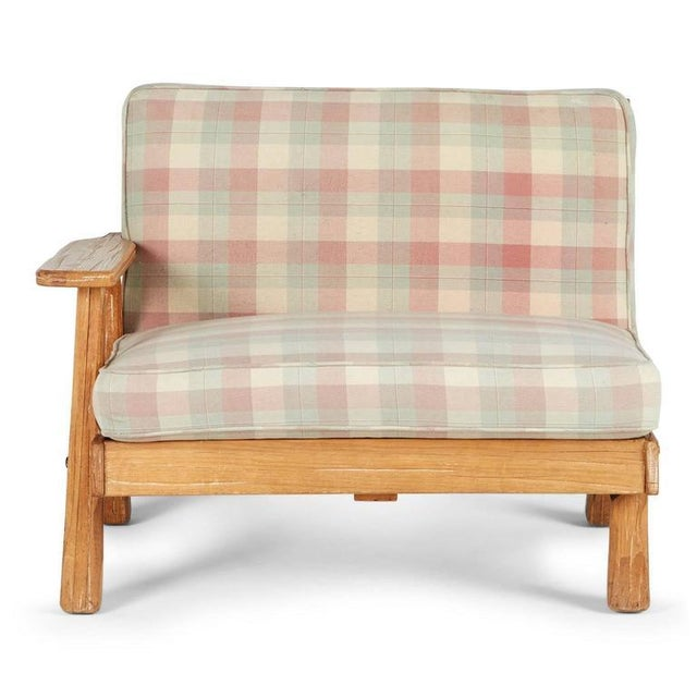 A. Brandt Ranch Textured Oak Seating Set - Image 2 of 9