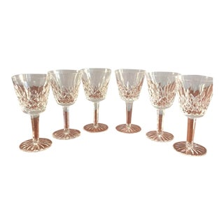 Waterford Classic Lismore Goblets - Set of 6