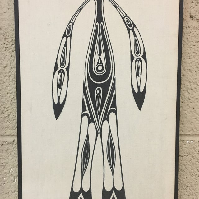 Image of Vintage Alaskan Tribal Inuit Canvas Art