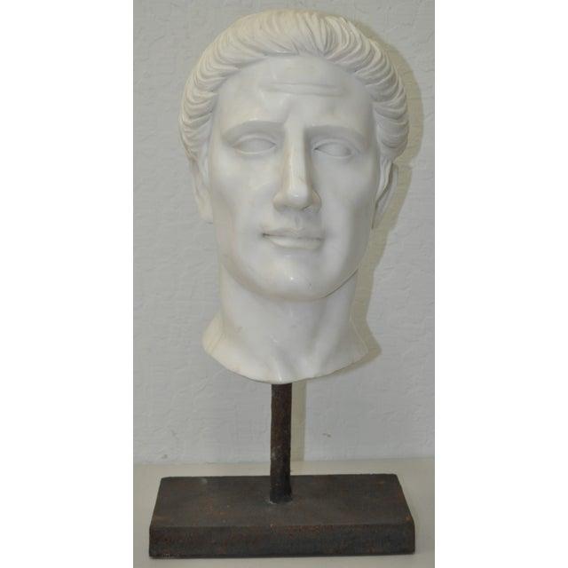 Italian Marble Roman Bust C.1950 - Image 3 of 6