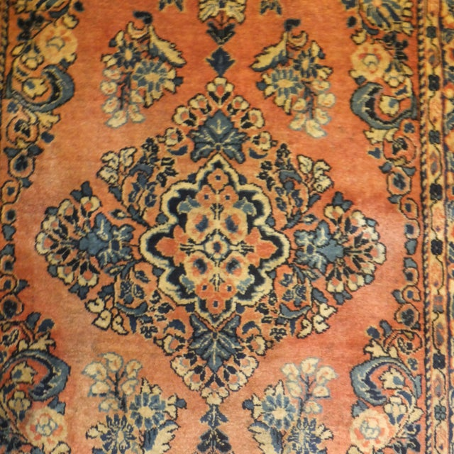 "Leon Banilivi Antique Persian Sarouk 6'6"" X 2'7"" - Image 2 of 4"