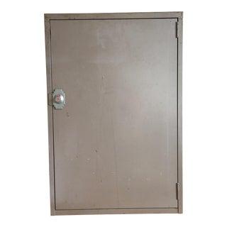 1965 Mid Century Mini-Vault Metal Storage Cabinet