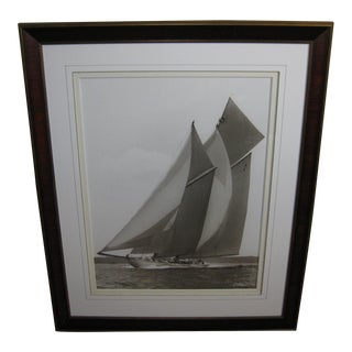1911 Yacht of the Waterwitch by Frank Beken Reproduction Print
