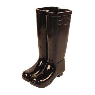 Black Les Bottes Umbrella Stand