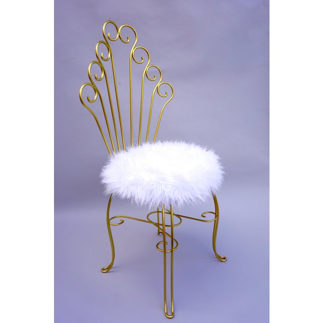 Astonishing Vanity Chair Gold Gallery - Best image 3D home ...