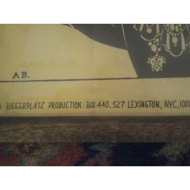 """Aubrey Beardsley """"Ali Baba"""" Print - Image 4 of 8"""