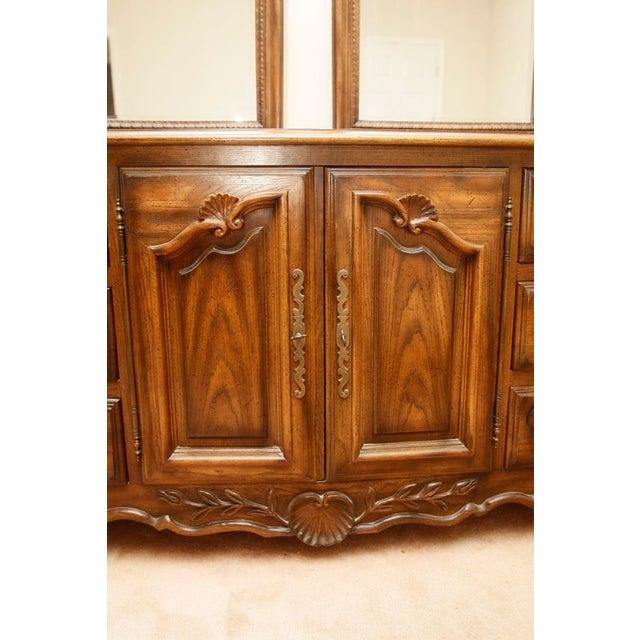 Century Furniture Double Mirror Dresser - Image 7 of 11