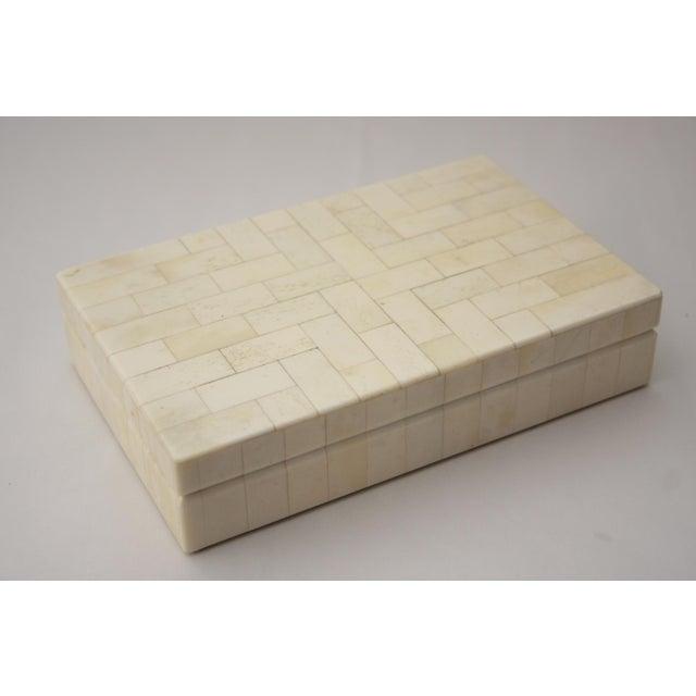 Tessellated Bone Trinket Box - Image 2 of 11