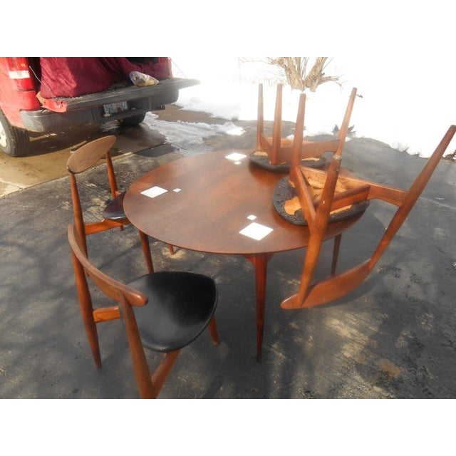 Image of Hans Wegner Dining Set / Game Table
