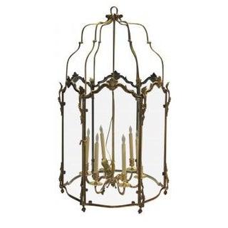 Large Louis XV Style Bronze Doré Lantern