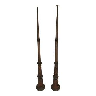 Tibetan Telescoping Trumpets - A Pair
