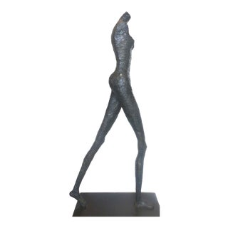Giacometti Style Nude Female Sculpture