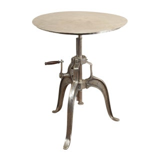 Adjustable Industrial Center Table
