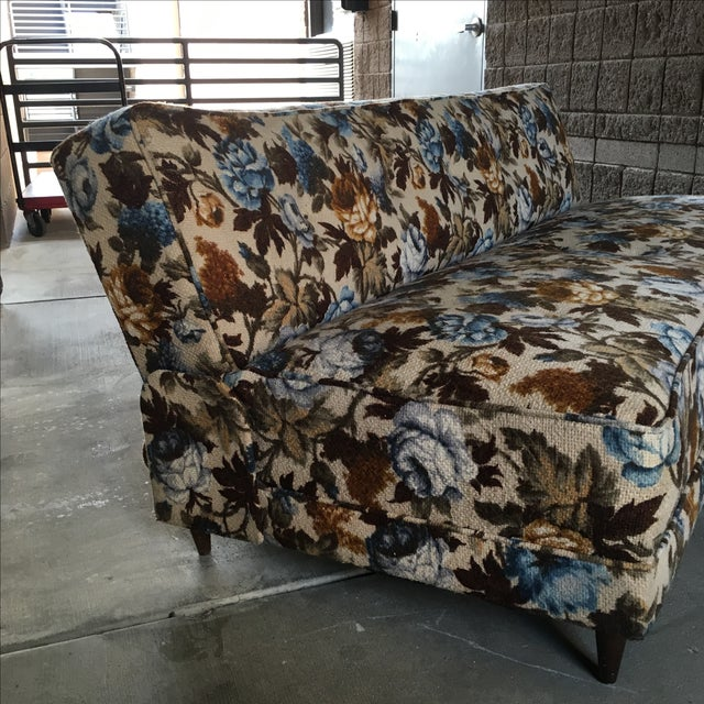 Mid Century Modern Convertible Daybed - Image 4 of 9
