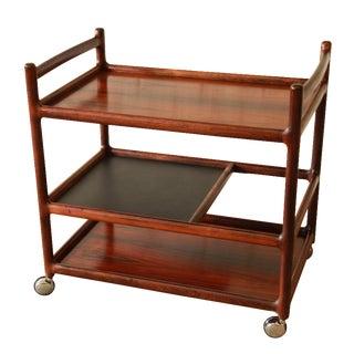 Johannes Andersen Rosewood Bar Cart