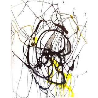 Untitled 4. Drawing. Ink, Acrylic, Charcoal on Paper. Framed