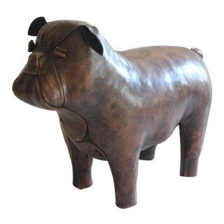 Leather Bulldog by Dimitri Omersa for Abercrombie & Fitch