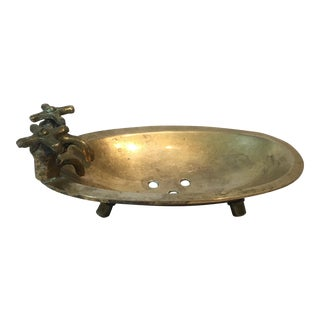 Brass Bath Tub Soap Dish